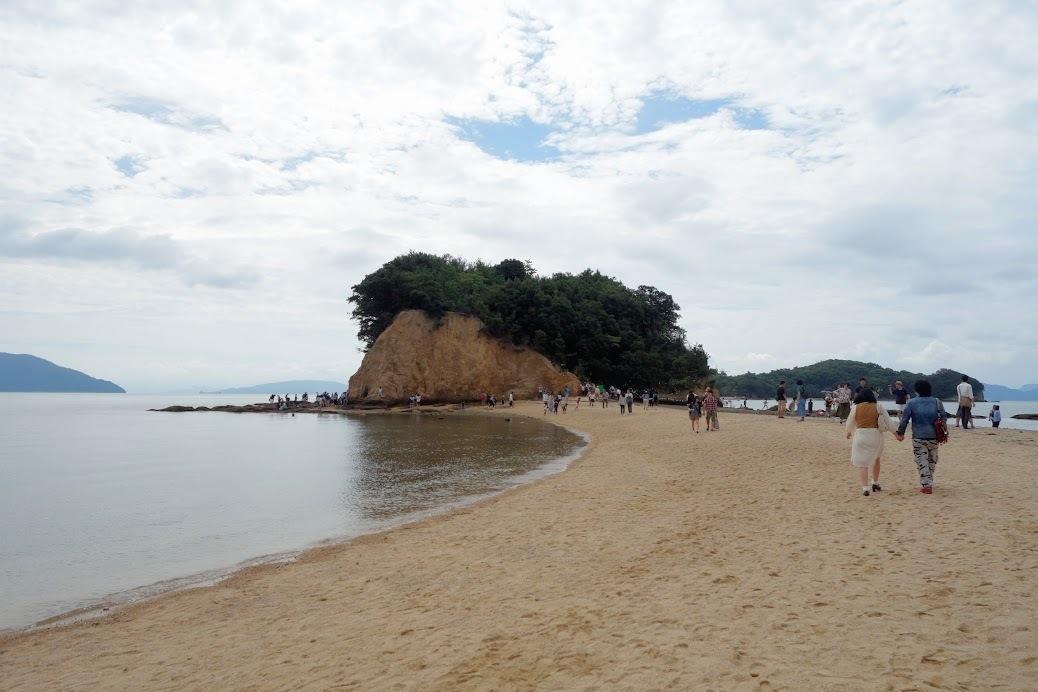 香川 小豆島からさらに島々 余島...
